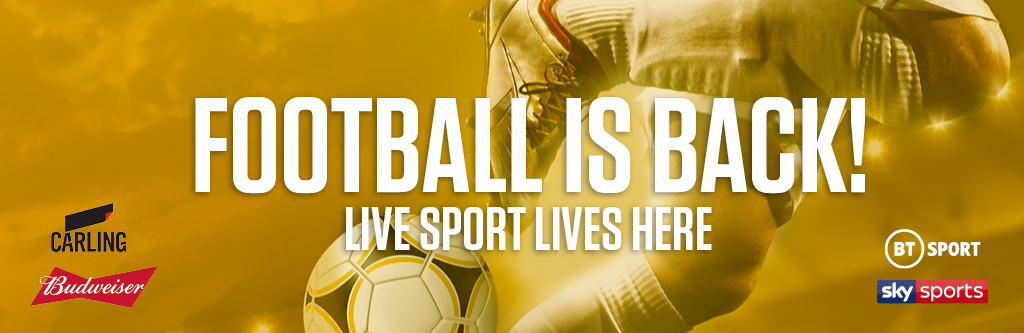 Watch live football at Tennent's Bar