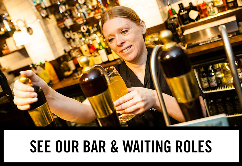 Bar roles at Tennent's Bar