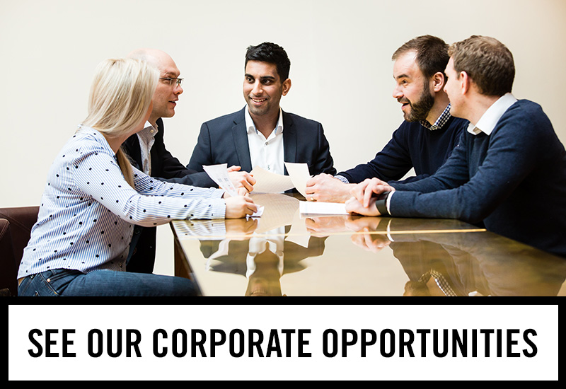 Corporate opportunities at Tennent's Bar