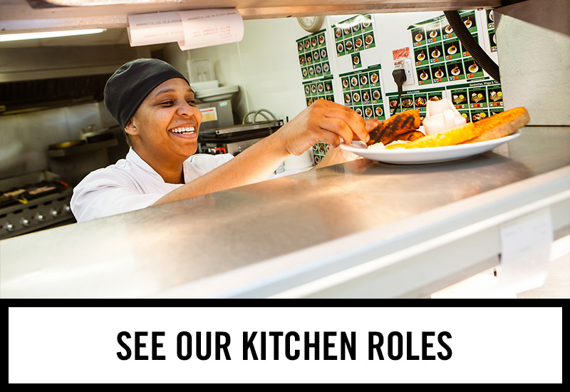 Kitchen roles at Tennent's Bar