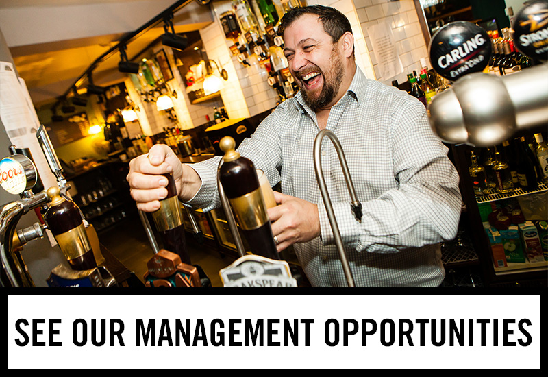 Management opportunities at Tennent's Bar
