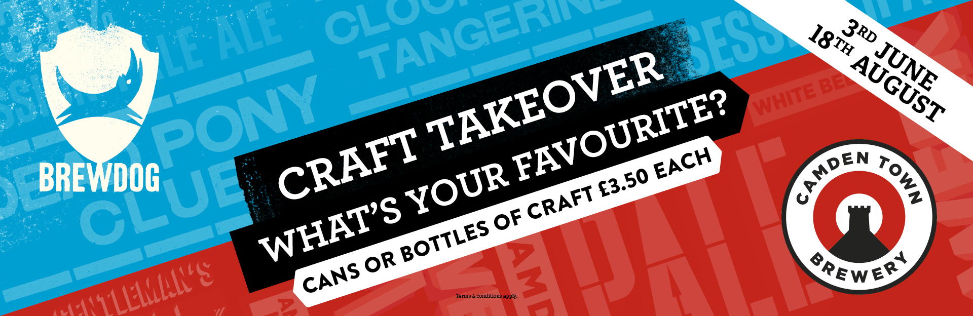 Craft Takeover at Tennent's Bar